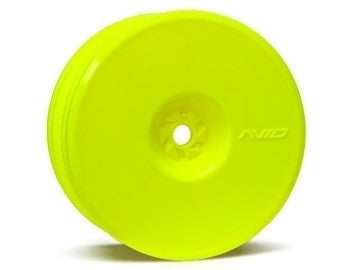 Satellite Front Wheel (B5, RB5) | 12mm Hex | Yellow Pair - GRIPWORKS RC