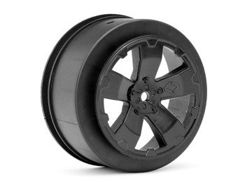 Sabertooth Losi-SCTE/22SCT Wheel | Black | Pair - GRIPWORKS RC