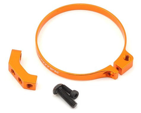 Exotek Racing Angled Clamp On Fan Mount (Orange)