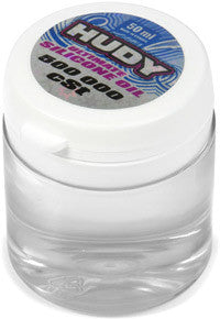 HUDY ULTIMATE SILICONE OIL 500 000 cSt - 50ML - GRIPWORKS RC