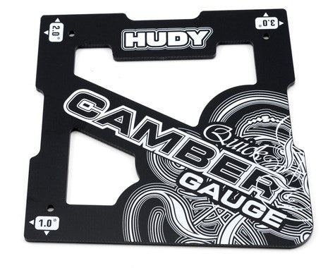 Hudy 1/8 Off-Road Quick Camber Gauge - GRIPWORKS RC