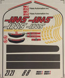 F1PAINTLAB F1 DECAL SHEET (HAAS VF-16) - GRIPWORKS RC