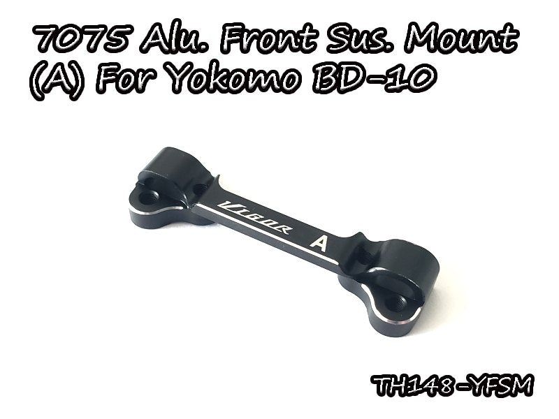 7075 Aluminum Front Suspension Mount(A) For Yokomo BD-10