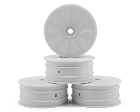JConcepts 12mm Hex Mono 2.2 4WD Front Buggy Wheels (4) (22-4) (White) - GRIPWORKS RC