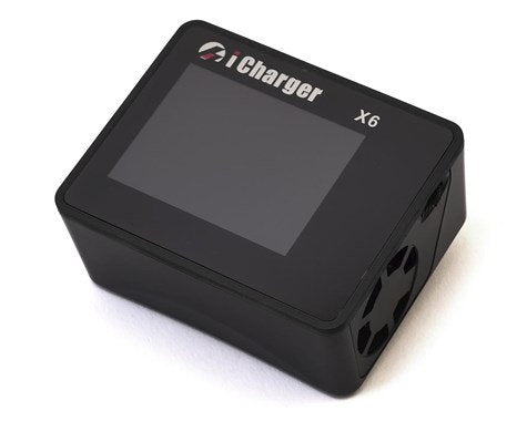 Black Edition: Junsi iCharger X6 Lilo/LiPo/Life/NiMH/NiCD DC Battery Charger (6S/30A/800W)