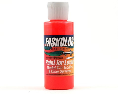 Parma PSE FasFluorescent Red Faskolor Lexan Body Paint (2oz)