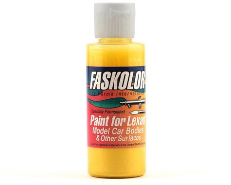 Parma PSE Fasescent Yellow Faskolor Lexan Body Paint (2oz) - GRIPWORKS RC