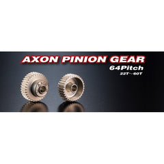 AXON Pinion Gears 64P (22T-60T - GRIPWORKS RC