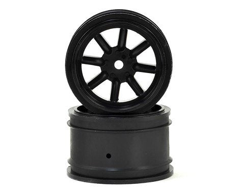 Protoform Vintage Racing Rear Wheels (31mm) (2) (Black)