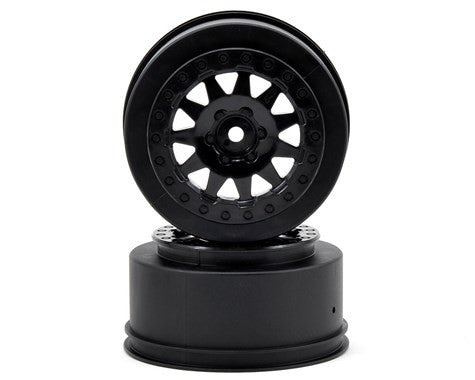 Pro-Line F-11 Short Course Wheels w/+3mm Offset (Black) (2) - GRIPWORKS RC