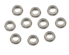 "ProTek RC 1/4x3/8x1/8"" Metal Shielded Flanged ""Speed"" Bearing (10) - GRIPWORKS RC"