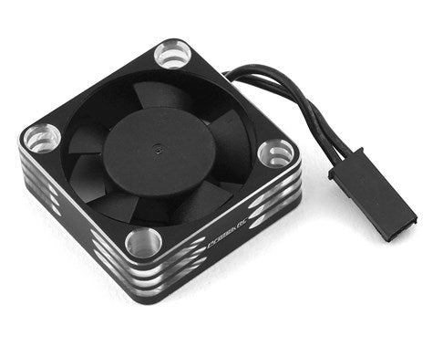 ProTek RC 30x30x10mm Aluminum High Speed HV Cooling Fan (Silver/Black)
