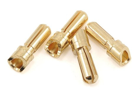 "ProTek RC 3.5mm ""Super Bullet"" Gold Connectors (4 Male)"