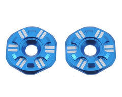 Schelle Racing Asterisk Wing Buttons (Blue) - GRIPWORKS RC