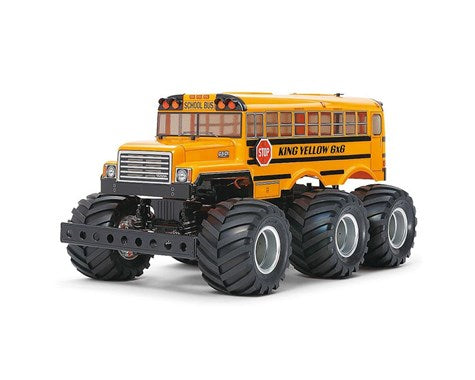 Tamiya 1/18 King Yellow 6x6 G6-01 4WD Monster Truck Kit w/Pre-Painted Body (PRE ORDER)