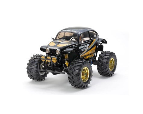 Tamiya Monster Beetle 2015 2WD Monster Truck Black Edition Kit (PRE ORDER)