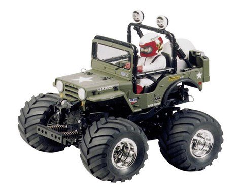 Tamiya Wild Willy 2000 2WD Monster Truck Kit (PRE ORDER)