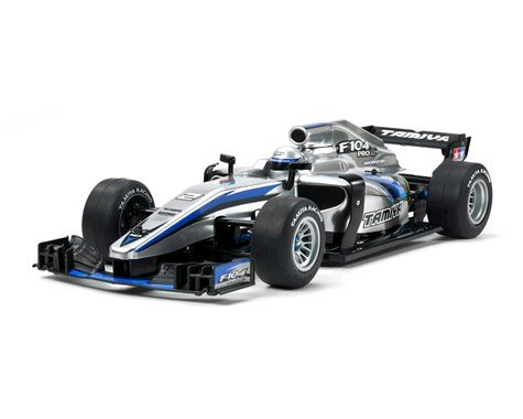 Tamiya F104 PRO II 1/10 Competition F1 Chassis Kit w/Body (PRE ORDER)