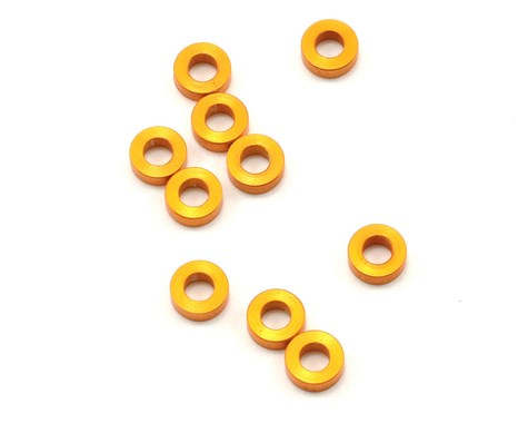 XRAY Aluminum Shim 3x6x2mm (10) - ORANGE - GRIPWORKS RC