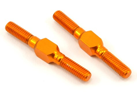 XRAY 26mm Aluminum Turnbuckle Set (L/R) (Orange) (2)