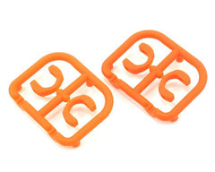 XRAY 3.5mm Plastic Drive Pin Clips (4) (Orange) - GRIPWORKS RC