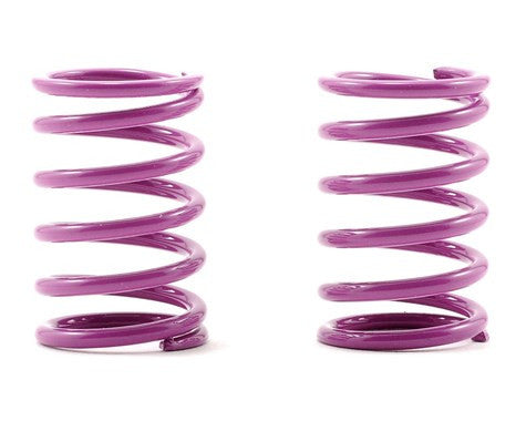 XRAY Rear Shock Spring Set D=1.8 (33lb - Medium/Hard) (Purple) (2) - GRIPWORKS RC