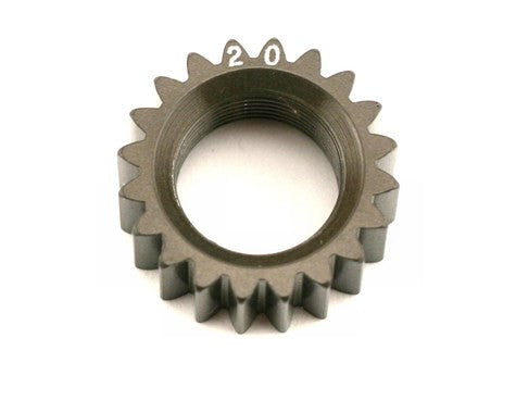 XRAY XCA Aluminum 7075 T6 Hard Coated Pinion Gear - 20T (2nd) - GRIPWORKS RC