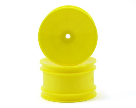 Yokomo 12mm Hex 1/10 Rear Buggy Wheels (Yellow) (2) (YZ-2/YZ-4/B-MAX) - GRIPWORKS RC