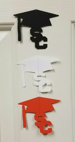 Personalized Graduation Cap Garland Streamer