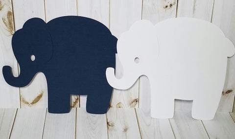 "5"" Die Cut Elephants"