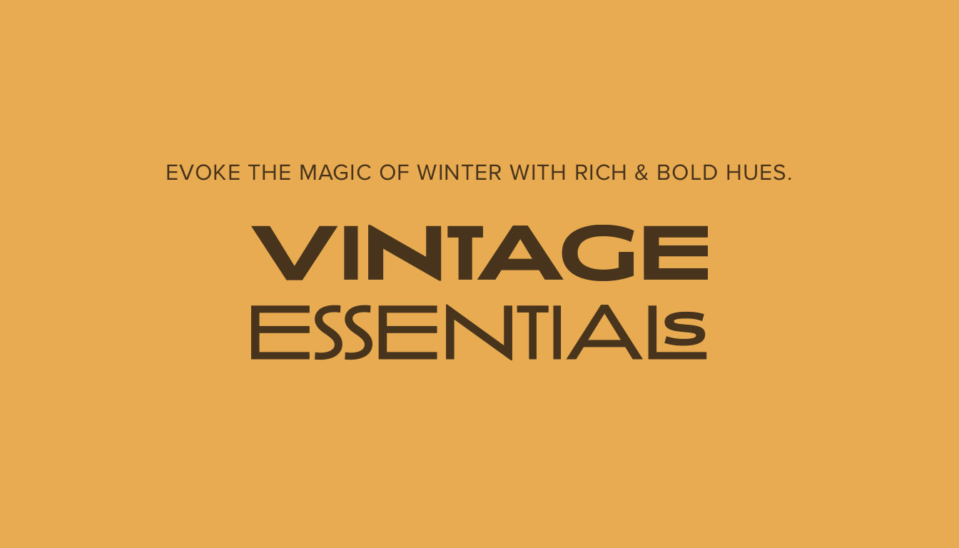 WINTER EDIT FT. VINTAGE ESSENTIALS