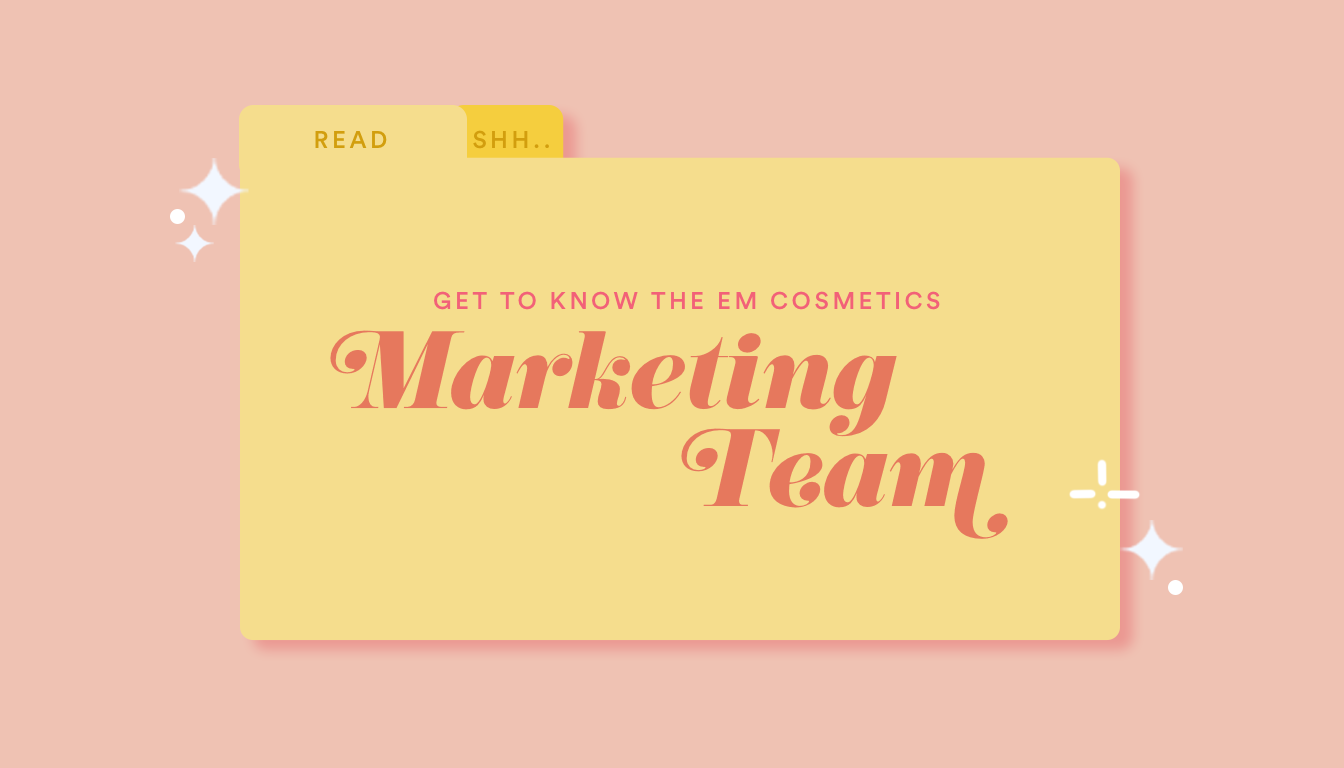 MEET THE MARKETING TEAM
