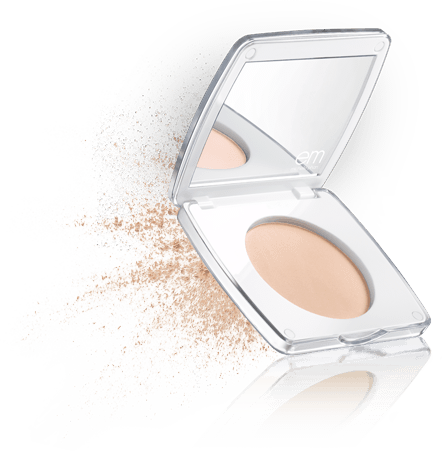 love me for me<br/>flawless finish powder compact