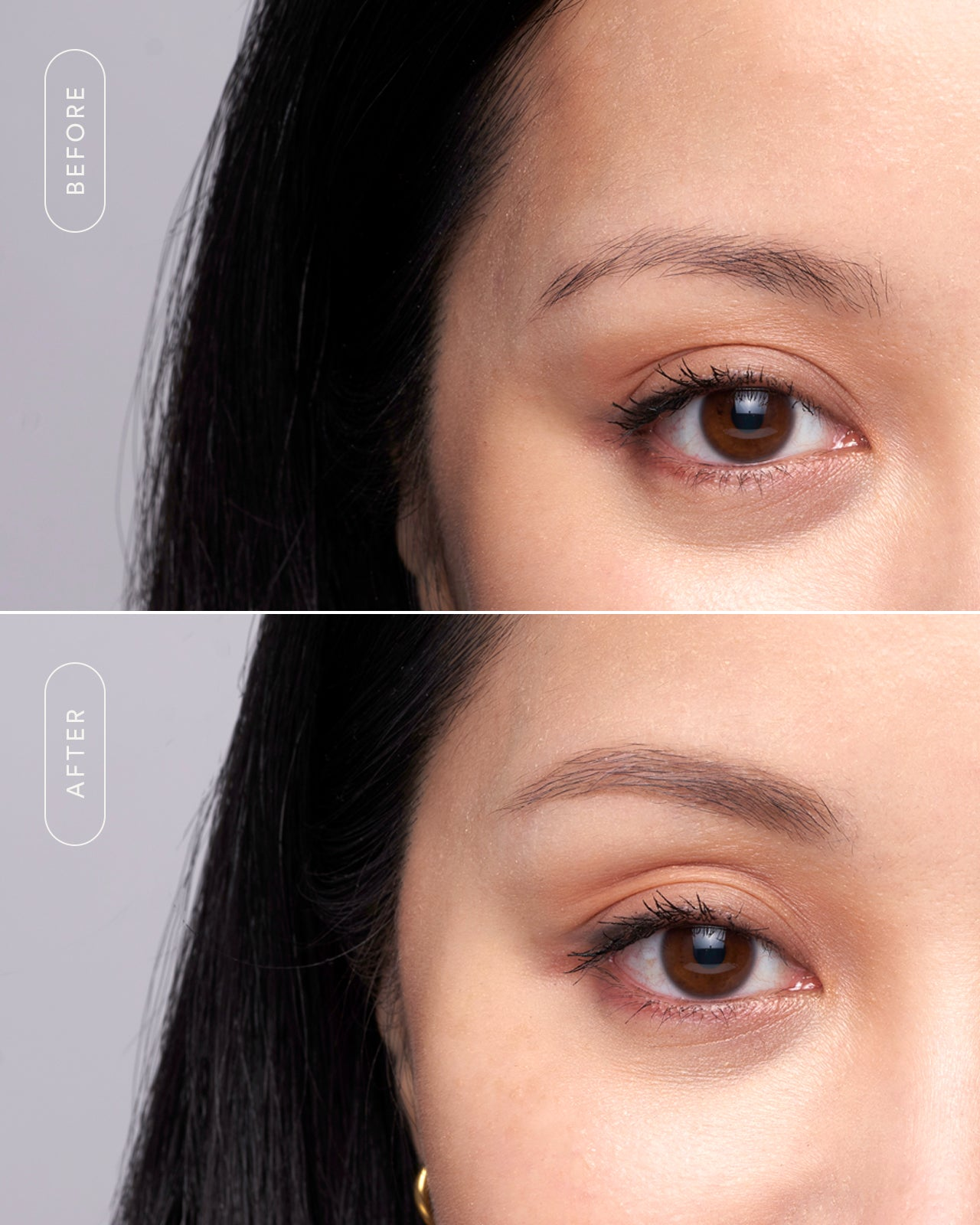 flexibrow-clear-brow-gel-michelle-phan-before-after-1