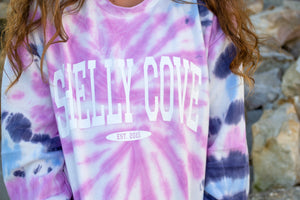 Retro Tie Dye Crew Neck - Shelly Cove
