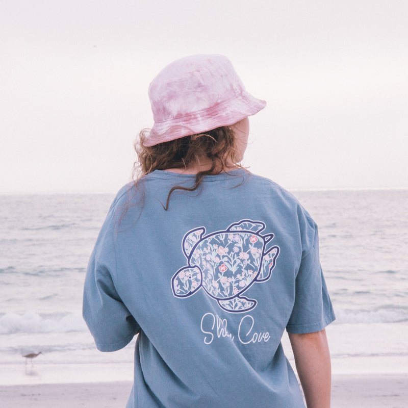 Wildflower Picnic Short Sleeve Tee - Shelly Cove
