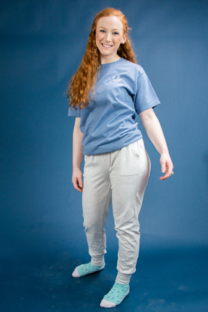 Leisure Joggers - Heather Gray - Shelly Cove
