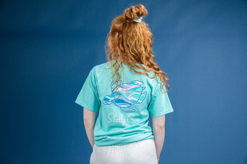 Deep Dive Turtle Tee Short Sleeve Tee - Shelly Cove