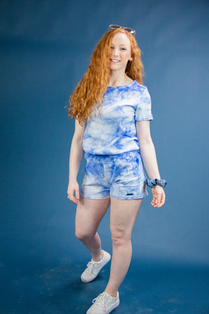 Summer Sky Tie-Dye Lounge Set - Shelly Cove