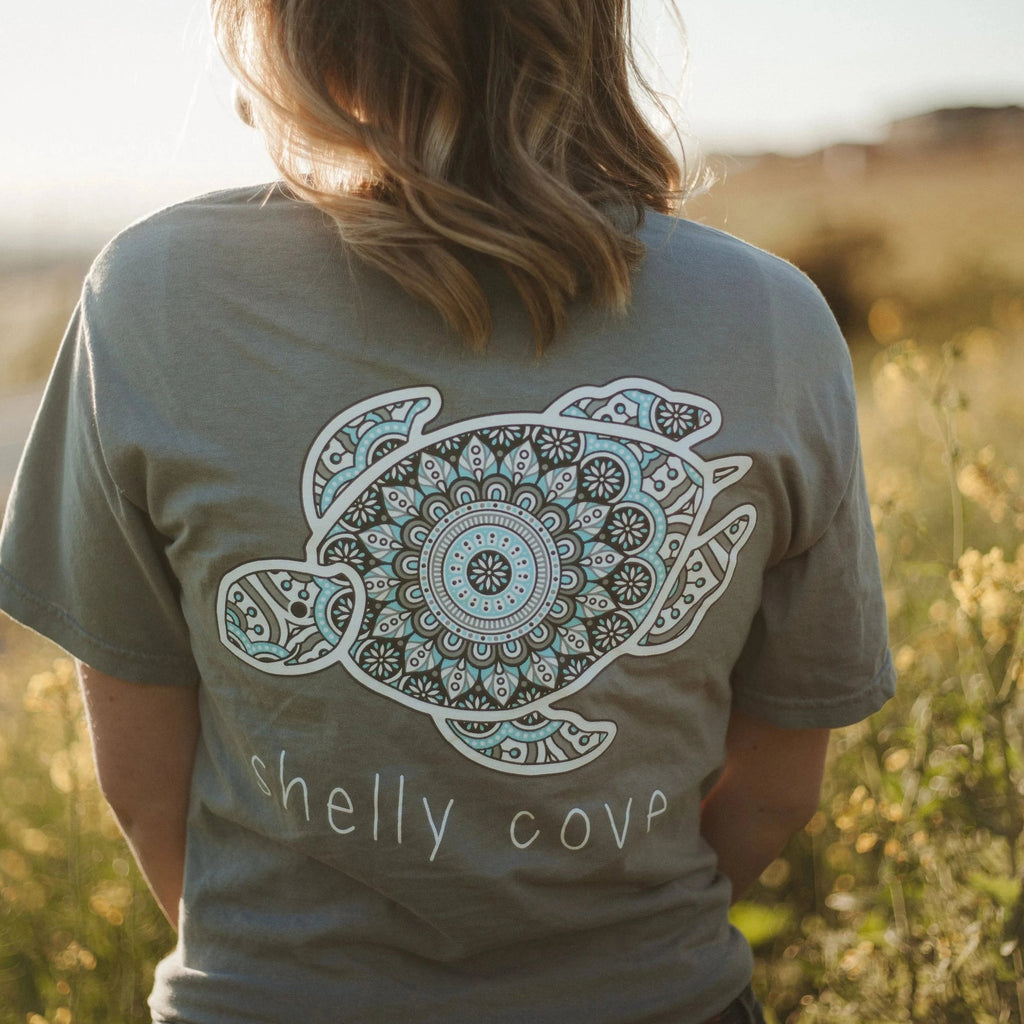 Tile Short Sleeve Tee - Shelly Cove