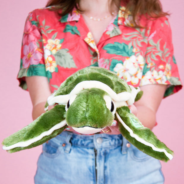 Baby Shelly Plush Sea Turtle - Recycled 1
