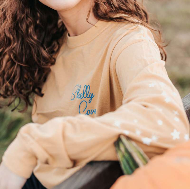 Royal Nights Long Sleeve Tee - Shelly Cove