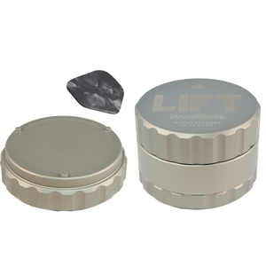 3 Piece SILVER Grinder SOLD OUT - PRE-ORDER for expected shipping by January 31, 2020