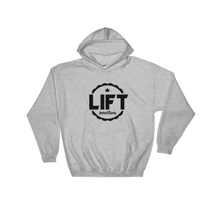 Hooded Sweatshirt (GREY) FREE SHIPPING to USA, Canada, Europe (see list in description)