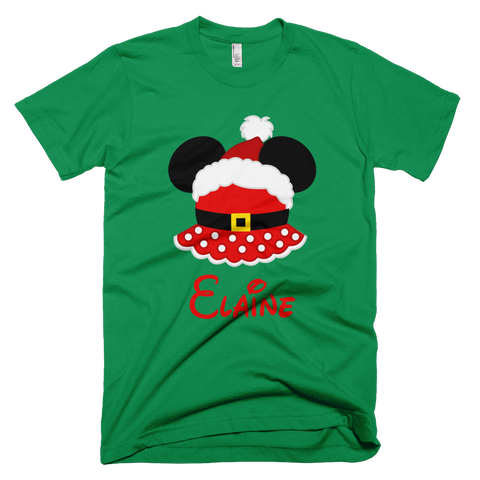 Personalized Mrs. Claus Minnie Shirt