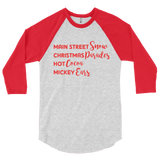 Disney at Christmas Raglan