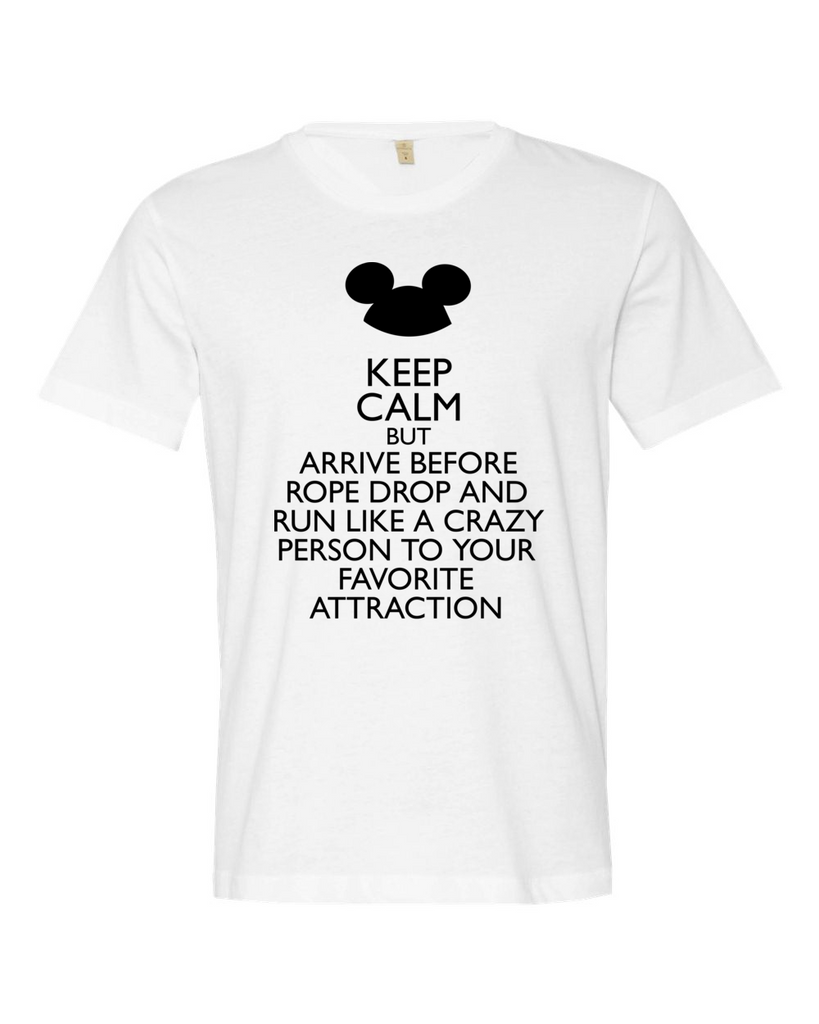 Keep Calm at Rope Drop
