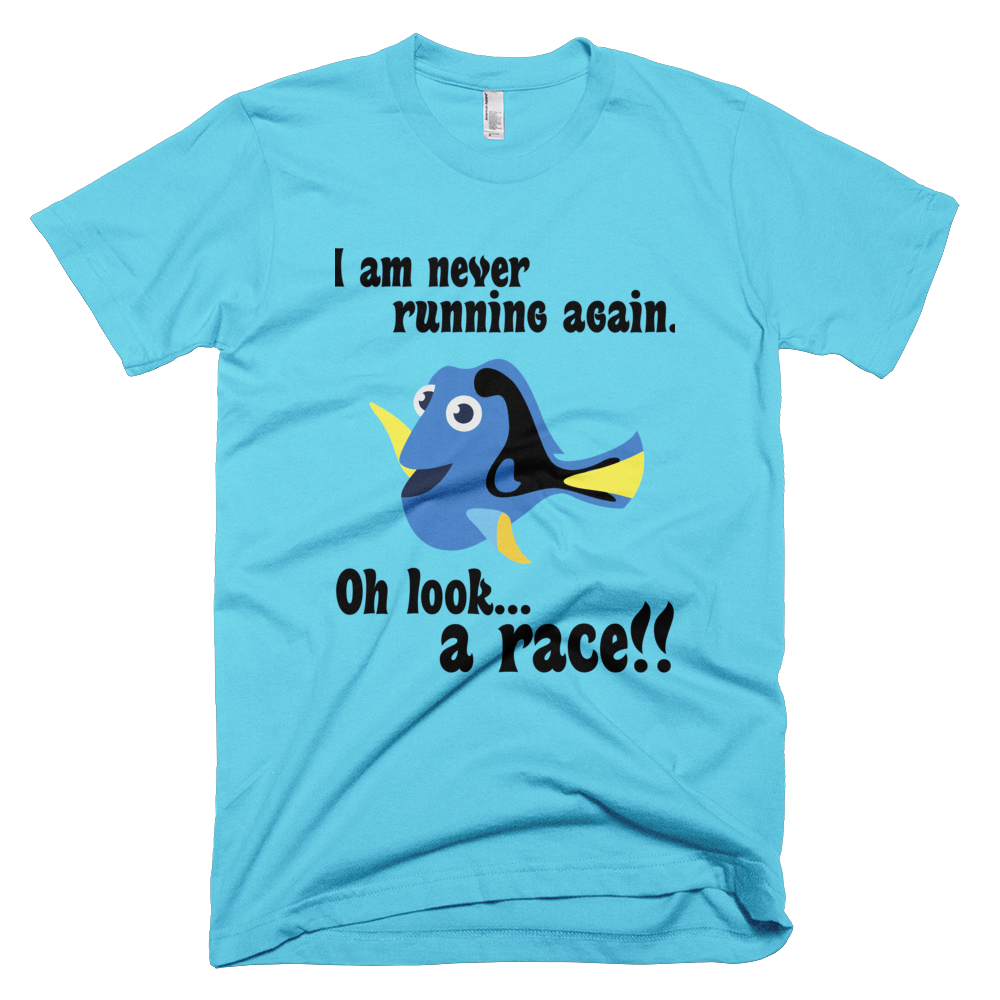 Dory Never Running Again Tech Shirt