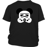 Storm Trooper Mickey Head - Kids Shirt