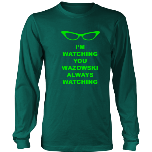 Roz is Watching Long Sleeve Shirt